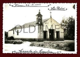 PORTUGAL - VISEU - SAO PEDRO - CAPELA DA ESCULCA - 1970 REAL PHOTO - Other