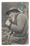 (3580-29) Fumeur De Plomodiern - Plomodiern