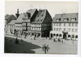 Quedlinburg, Lohgerberhaus. Normalformat - Quedlinburg