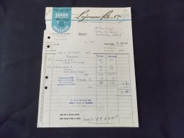 Paris Lejeune Fils & Cie Appareils A Essence Minérale Pour Souder & Braser Canon Radia Excelsior 1955 Rue JP Timbaud - Petits Métiers
