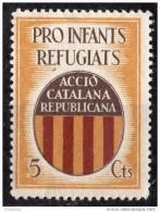 Accio Catalana Republicana - Pro Infants Refugiats  -  5 Cts. - Guillamon 1772   ***  Spain Civil War & 84 - Erinofilia