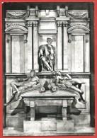 CARTOLINA NV ITALIA - FIRENZE - Cappelle Medicee - Monumento Di Lorenzo De Medici - Michelangelo - 10 X 15 - Sculture