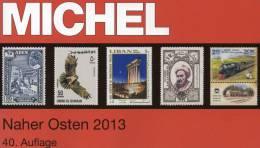 MICHEL Band 10 Naher Osten 2013 Neu 89€ Of Iran Irak Israel VAE Aden Ajman Khaima Sharjah Qiwain Jemen 978-3-95402-050-3 - Telefonkarten