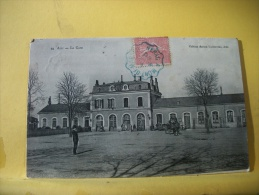 81 01 - CPA - ALBI - LA GARE - 1906 - ANIMATION (VOIR SCANS RECTO VERSO) - Albi