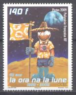 Polynésie Française YT N°875 Premier Homme Sur La Lune Neuf ** - French Polynesia