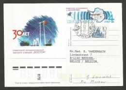 URSS - Station Polaire Vostok - - Bases Antarctiques