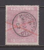1867 - 1883  SG  Nº 127 - Oblitérés