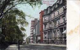 BOSTON MASS. 1905? - Beacon Street - Boston
