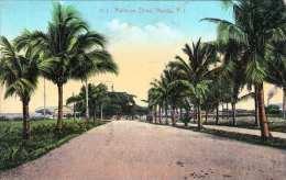 MANILA  P.I. 1910? - Malecon Drive - Philippinen