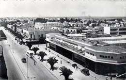 MEKNES (Marokko) 1951 - Avenue Mezergues Et ... Dar Bel Amri, Schöne Sondermarke - Meknes