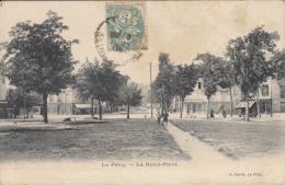 CPA 78 / LE PECQ / LE ROND POINT / ANIMEE / E. CARRE - Le Pecq