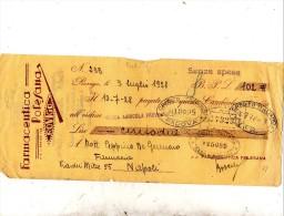 1921  CAMBIALE - Bills Of Exchange