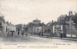 EVRY BOULEVARD DES GRANDS FOSSES LES ECOLES ANIMEE 10 AUBE - Ervy-le-Chatel