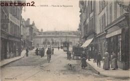 TROYES PLACE DE LA BONNETERIE TRAMWAY 10 AUBE - Troyes