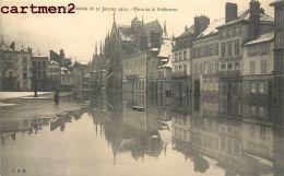 TROYES INONDATION DU 21 JANVIER 1910 PLACE DE LA PREFECTURE 10 AUBE - Troyes