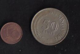 SINGAPORE- 50 CENTS 1970 - Singapore