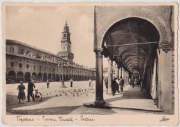 VIGEVANO, PIAZZA DUCALE, VG 1954, B/N, FORMATO 10X15    **//** - Pavia