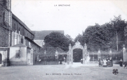 35 - Rennes -  Entree Du Thabor - Rennes