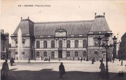 35 - Rennes -  Place Du Palais - Rennes