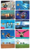 ° BELGIE  BELGACOM 10  VERSCHILLENDE TELEFOONKAARTEN - Collections