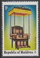 1975 - MALDIVES - Y&T 519 - Throne/Trône (MNH/**) - Maldives (1965-...)