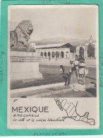 MEXIQUE AMECAMECA LA VILLE ET LE VOLCAN - Messico