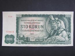 100 Korun 1961 Condition 1-   /// T2010 - Tschechoslowakei