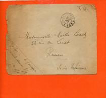 Trésor Et Postes - Section 151  Année 1917 ( En L´état )-  ( Militaire) - Marcophilie (Lettres)