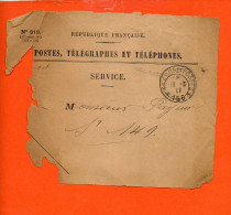 Trésor Et Postes - Section 156 Année 1917 ( En L´état )- Postes, Télégraphes Et Téléphones - ( Militaire) - Marcophilie (Lettres)