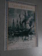 SS Helene Sloman Hamburg - New York 1850 (28 X 38 Cm) - Boats