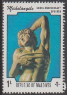 1975 - MALDIVES - Y&T 565 - Michelangelo Buonarroti (MNH/**) - Maldives (1965-...)