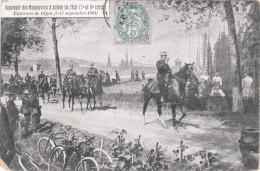 Cpa - Souvenir Des Manoeuvres D'armée De L'Est - (7°et 8°corps) - Environs De Dijon (5 Et 17 Septembre 1904) - Manovre
