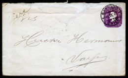 A3098) Chile Old Cover From 1897 - Chile