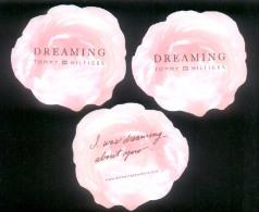 3 X Singapore Perfume Cards Cartes Parfumees --  TOMMY HILFIGER DREAMING - Cartes Parfumées