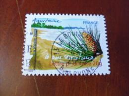 FRANCE OBLITERATION Ronde  Sur Timbre    YVERT N°309 - Adhésifs (autocollants)