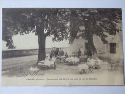 Brison, Restaurant Bocquin, Au Bord Du Lac Du Bourget. - Non Classés