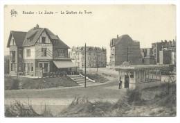 CPA - KNOKKE - KNOCKE - Station Du Tram - Statie  // - Knokke