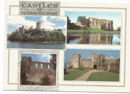 K3656 Castels Of Pembrokeshire - Castle Pembroke Haverfordwest Carew Manorbier / Non Viaggiata - Pembrokeshire