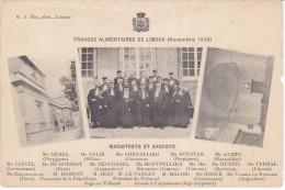 11 LIMOUX Fraudes Alimentaires Novembre 1910 (Rare Avec Noms Des Magistrats...Nerel De Perpignan...) - Limoux