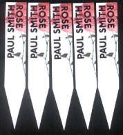 5 X Singapore Perfume Cards Cartes Parfumees -- PAUL SMITH ROSE - Modernes (à Partir De 1961)