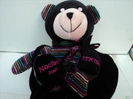 """RYKIEL POUR NOCIBE """" OURS  NOCIDOU"""" 2005 AVEC SON POCHON   SUPERBE ETAT    LIRE ET VOIR!! - Perfumed Bears"""