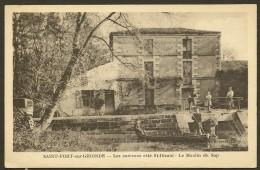 ST FORT Sur GIRONDE Côté St DIZANT Rare Le Moulin Du Sap (Brisset Moreau) Chte Mme (17) - Autres Communes