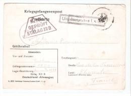 Tarjeta Postal   Prisionero De Guerra De 1941 - Sin Clasificación