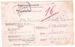 Tarjeta  Prisionero De Guerra De 1944. - 1900-44 Vittorio Emanuele III