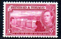 Trinidad & Tobago GVI 1938 6c Definitive, MNH - Trinidad & Tobago (...-1961)