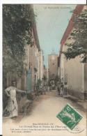 CPA - - Sainte Cécile Aux Vignes - La Grand'Rue - Porte De L'Horloge - Colorisée Animée - France