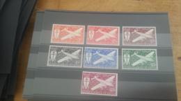 LOT 254492 TIMBRE DE COLONIE SOMALIS NEUF**  N�1 A 7 VALEUR 14,5 EUROS LUXE