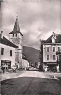Carte Postale Des Années 50 - Novalaise - La Place Et La Route Du Lac - Altri Comuni