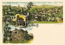 Asch - Aš 1897,Tschechische Republik, Litho, Reproduction - Tchéquie