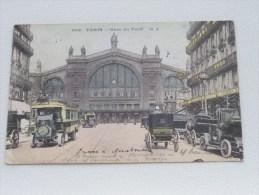Gare Du Nord PARIS ( 609 - M. J. ) - Anno 1919 ( Zie Foto´s Voor Details ) !!